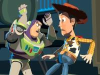 Флеш игра Вуди и Базз Лайтер: Пазл