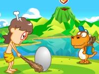 Флеш игра Вулканический гольф