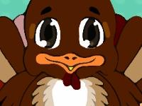 Флеш игра Вылечи нос индейке на день благодарения