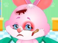 Флеш игра Вылечите кролика