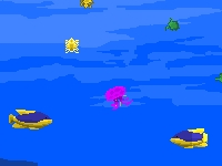 Флеш игра Вырасти медузу