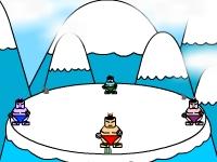 Флеш игра Вытолкни сумоистов