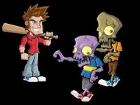 Флеш игра Выживание среди зомби