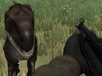 Флеш игра Выживай среди динозавров