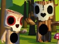 Флеш игра Взорви грибы
