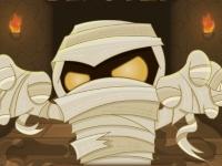 Флеш игра Взорви мумию