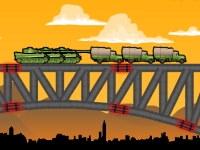 Флеш игра Взрыв моста