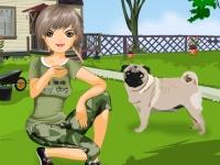 Флеш игра Я люблю свою собаку