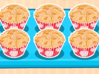 Флеш игра Яблочные кексы от Эппл Вайт