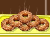 Флеш игра Яблочные пончики