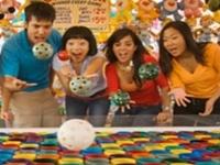Флеш игра Ярмарка с аттракционами: Поиск отличий