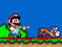 Флеш игра Ярость Марио
