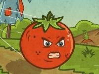 Флеш игра Ярость помидора