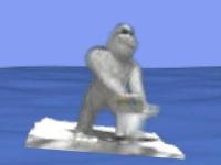 Флеш игра Йети спорт - тюлений отскок