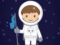 Флеш игра Юный астронавт