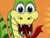 Флеш игра Змейка ест фрукты