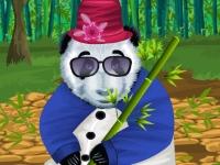 Флеш игра Забавная панда