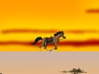 Флеш игра Забег лошадки