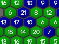 Флеш игра Захвати шестиугольник