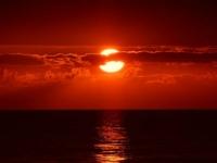 Флеш игра Закаты на океане: Пазл