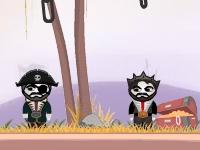 Флеш игра Замедленный взрыв: Пираты