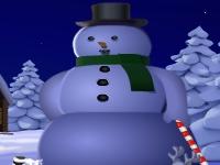Флеш игра Замерзший Санта Клаус