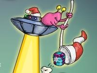 Флеш игра Запуск ракеты 3: Рождественская история