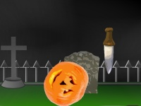 Флеш игра Заруби тыкву на Хэллоуин