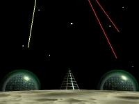 Флеш игра Защита Луны