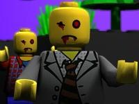 Флеш игра Защита базы от Лего зомби