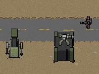 Флеш игра Защита базы в пустыне