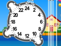 Флеш игра Защита на часах