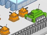 Флеш игра Защита от танков