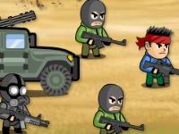 Флеш игра Защита от террористов
