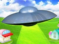 Флеш игра Защита планеты от инопланетян