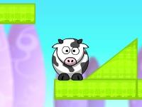 Флеш игра Защити корову: новые уровни