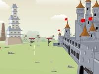 Флеш игра Защити замок от врагов