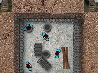Флеш игра Защитись от зомби