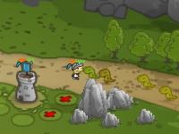 Флеш игра Защитник королевства