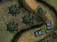 Флеш игра Защитники колонии