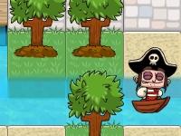 Флеш игра Затопленные деревни