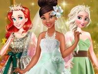 Флеш игра Зеленая свадьба Тианы