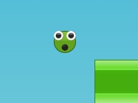 Флеш игра Зеленый Прыгун