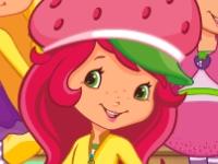 Флеш игра Земляничка с подругами в магазине