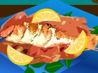 Флеш игра Жареная рыба