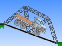 Флеш игра Железнодорожный мост