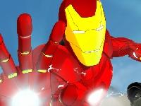 Флеш игра Железный человек: приключения бронированной справедливости