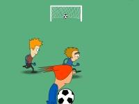 Флеш игра Жестокий футбол