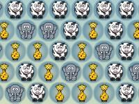 Флеш игра Животные-пузыри