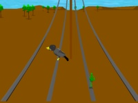 Флеш игра Жук на проводах